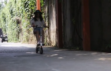 Airwheel E6 Folding electric road bike