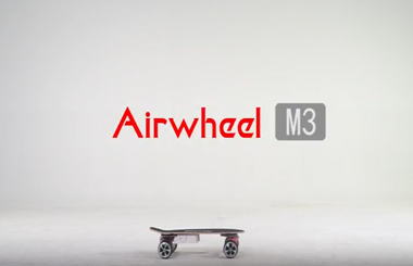 Airwheel M3 electric skateboard, teach you how to protect yourself and have fun
